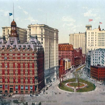 Original, Vintage Photochrome - Year 1900