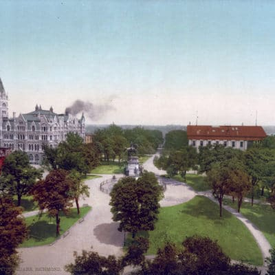 Original, Vintage photochrome - 1902