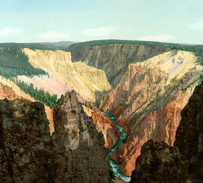 Grand Canyon of the Yellowstone, Wyoming #50502