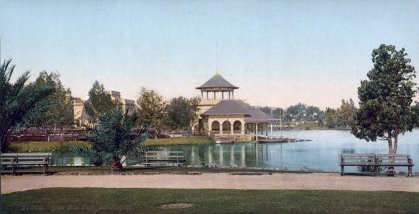 Original, Vintage Photochrome - Year 1899