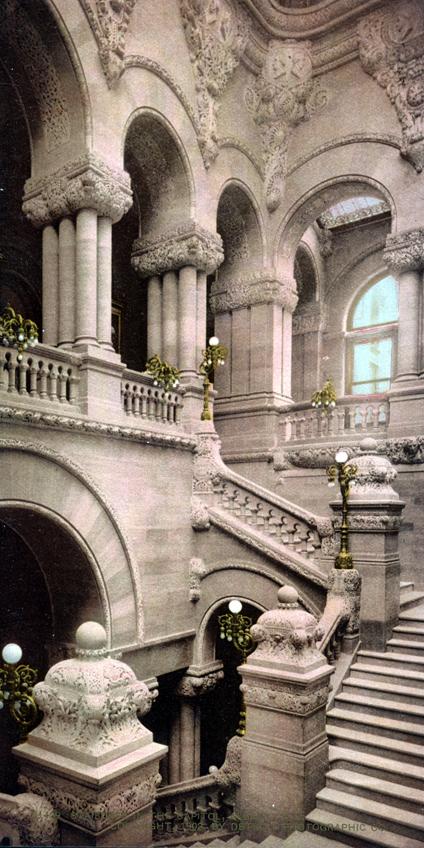 Original, Vintage Photochrome - Year 1902