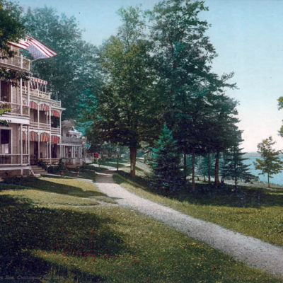 Cottage Row, Chautauqua, New York #53278
