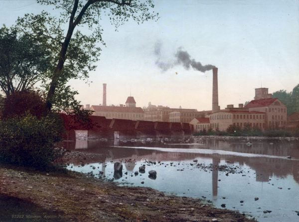 Original, Vintage Photochrome - Year 1898