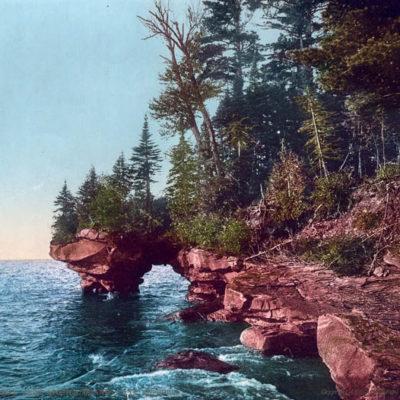 Grand Arch, Apostle Islands, Lake Superior, WI #53297