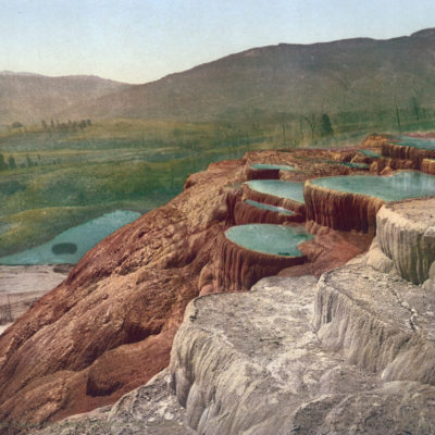 Original, Vintage Photochrome - Year 1902