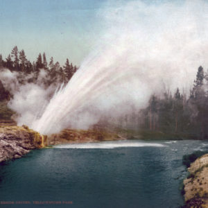Original, Vintage Photochrome - Year 1905