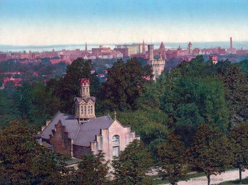 Syracuse from the University, NY #53614