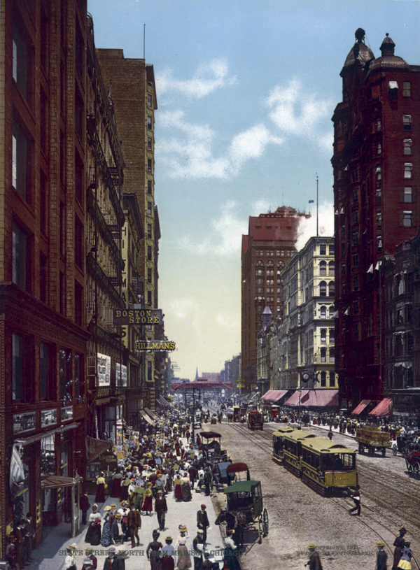 Original, Vintage Photochrome - Year 1900