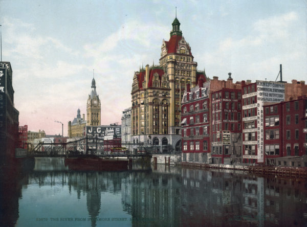 Original, Vintage Photochrome - Year 1901