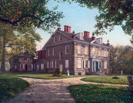 Cliveden, The Chew Mansion, Germantown,PA #53734