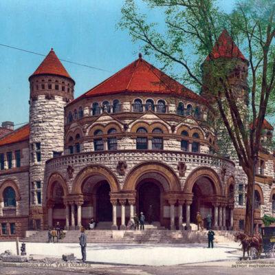 Osborn Hall, Yale College, New Haven, CT #53782