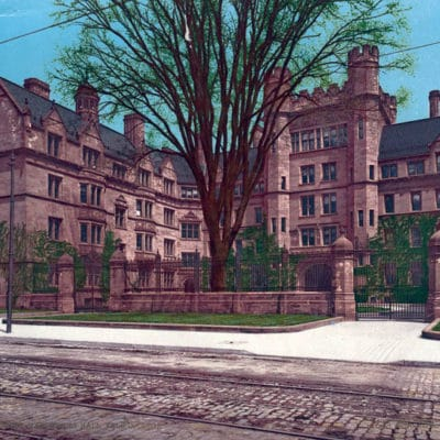 Vanderbilt Hall, Yale College, New Haven, CT #53783