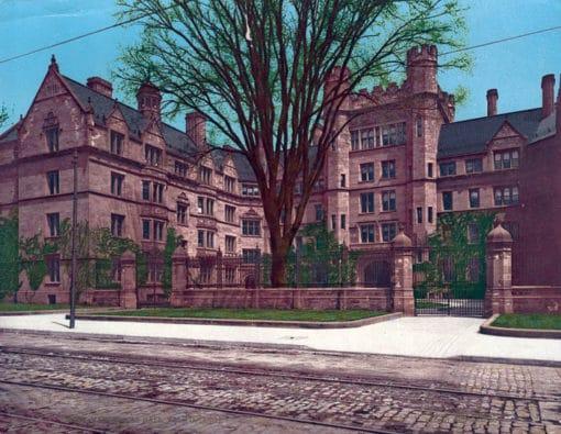 Vanderbilt Hall, Yale College, New Haven, CT #53783