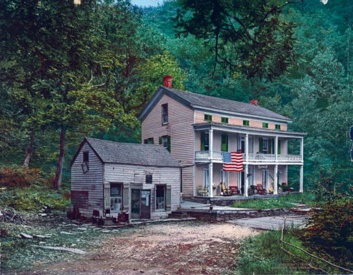 The Home of Rip Van Winkle, Sleepy Hollow, Catskill Mountains, Greene County, NY #54029