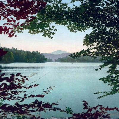 Upper Loon Lake, Adirondack Mountains, Franklin County, NY #54031
