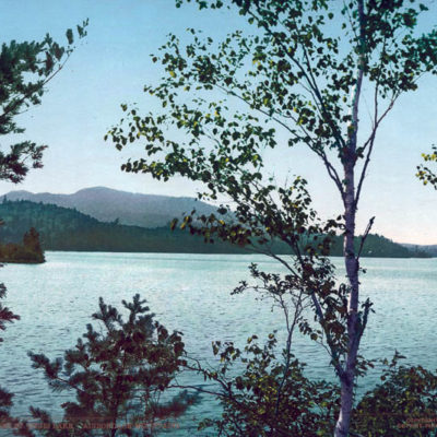 Upper St. Regis Lake, Adirondack Mountains, Franklin County, NY #54032