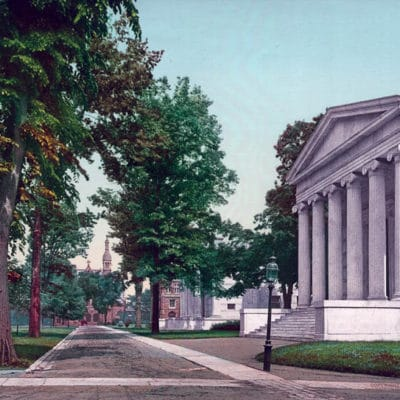 Whig and Clio Halls, Princeton University , NJ, #54076