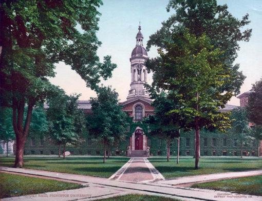 Nassau Hall, Princeton University , NJ, #54077