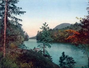 Paradise Bay, Lake George, Warren County, N.Y. #54136