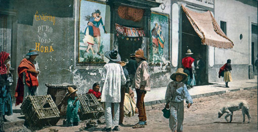 Mexico. A Pulque Shop, Tacubaya, Mexico City 51162