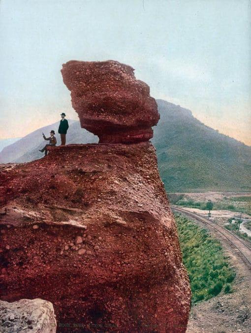 Pulpit Rock, Echo Canon Utah #53483