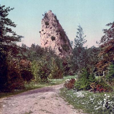 Sugar Loaf Rock, Mackinac Island